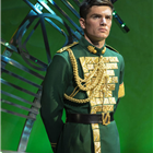 David Witts in Wicked at the Apollo Victoria Theatre, London. Photo credit: Darren Bell