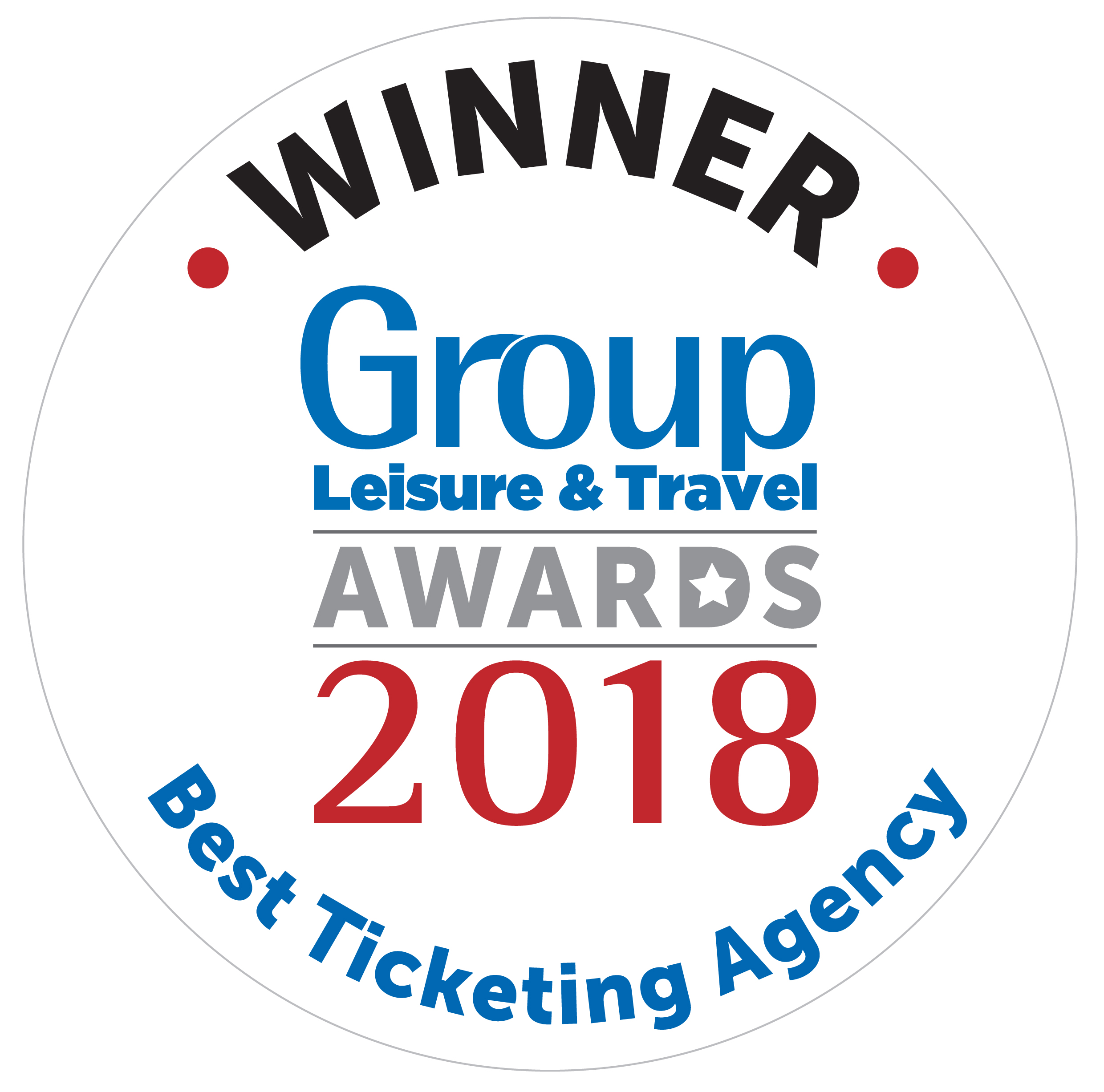 Group Line wins Best Ticketing Agency at the 2018 Group Leisure