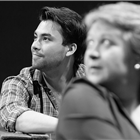 Rehearsals for Amour at the Charing Cross Theatre. Photo Credit: Scott Rylander.