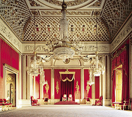 Book Buckingham Palace State Rooms + 2 Course Meal at The Rubens at the Palace Hotel Tickets