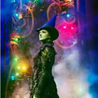 Nikki Bentley (Elphaba) in Wicked at the Apollo Victoria Theatre - photo credit Matt Crockett