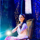 Natasha Ferguson (Nessarose) in Wicked at the Apollo Victoria Theatre - photo credit Matt Crockett