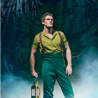 Alistair Brammer (Fiyero) in Wicked at the Apollo Victoria Theatre - photo credit Matt Crockett