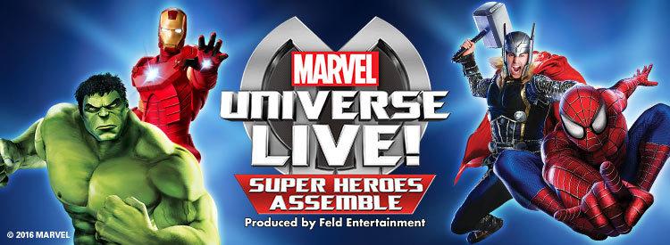 Marvel Universe LIVE! Super Heroes Assemble - Nottingham