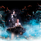 West End cast of The Phantom of the Opera at Her Majesty's Theatre, London.
