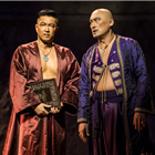 Takao Osawa and Ken Watanabe in Rodgers and Hammerstein's The King and I at the London Palladium, directed by Bartlett Sher. Credit: Matt Murphy