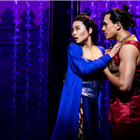 Dean John-Wilson and Na-Young Jeon in Rodgers and Hammerstein's The King and I at the London Palladium, directed by Bartlett Sher. Credit: Matt Murphy