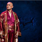 Ken Watanabe in Rodgers and Hammerstein's The King and I at the London Palladium, directed by Bartlett Sher. Credit: Matt Murphy