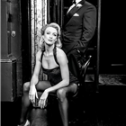 Duncan James and Laura Tyrer star in Chicago at the Phoenix Theatre, London.