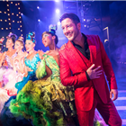 Matt Cardle at Wally in Strictly Ballroom at the Piccadilly Theatre, London. Photo by Johan Persson