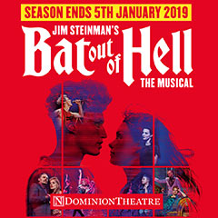Read More - Bat Out Of Hell - The Musical announces extension until January 2019