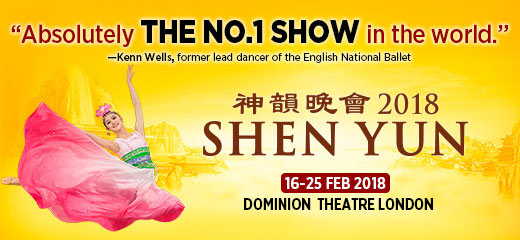 Shen Yun Performing Arts offers tickets to a thrilling two hour show packed with stage shaking drums, descending clouds of heavenly maidens, flowing silk and flying handkerchiefs, awe-inspiring flips and leaps, mesmerizing reenactments of traditional Chinese folktales, breathtaking synchronized dancers, rainbows of hand-sewn colorful costumes.