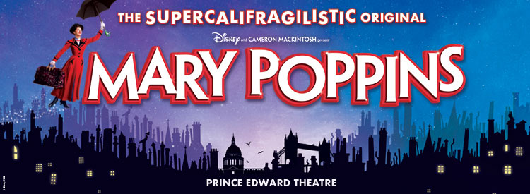 Mary Poppins Tickets | Musicals London | Book with Group Line
