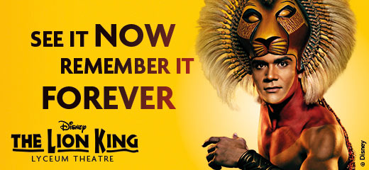 The Lion King - Groups now booking until 1st October 2017