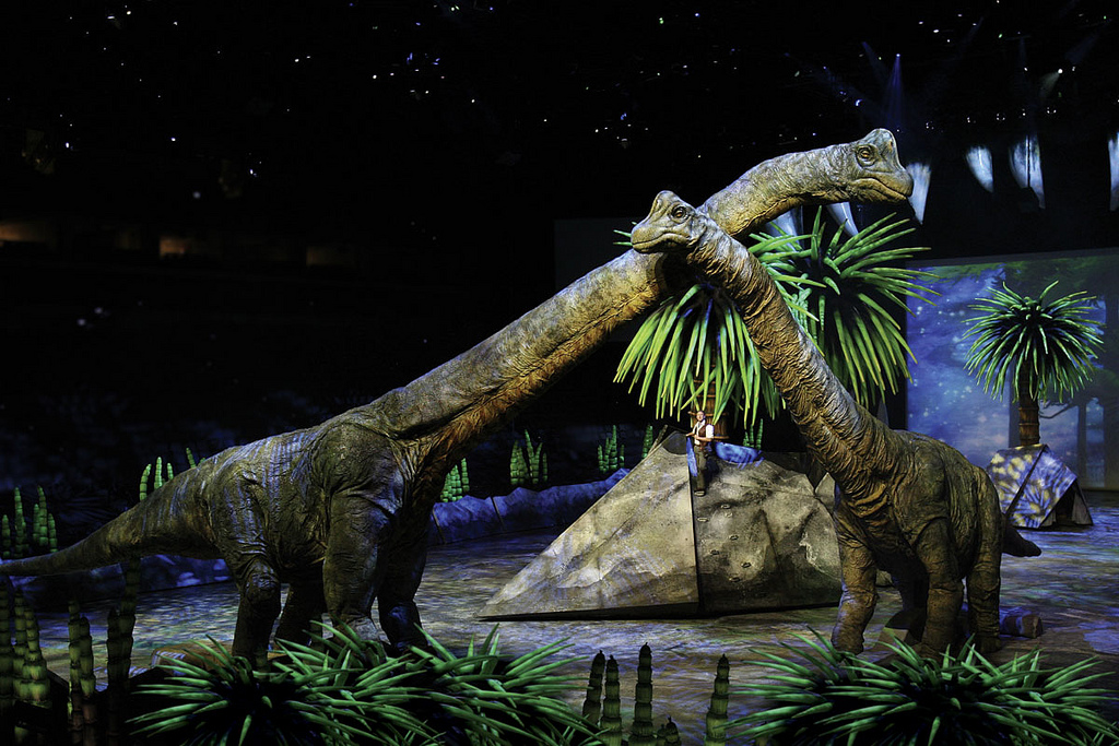 Walking With Dinosaurs Live Show 2016