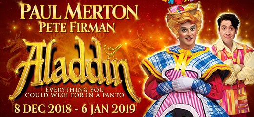 Aladdin tickets - the New Wimbledon Theatre