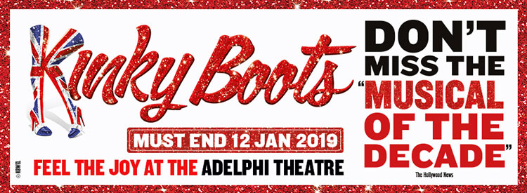 KINKY BOOTS is the winner of every major BEST MUSICAL award, including the Tony®, the Grammy® and London's Olivier Award. Based on true events, this huge-hearted hit tells the story of two.