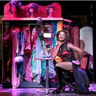 Simon Anthony Rhoden as Lola in Kinky Boots at the Adelphi Theatre, London. Photo credit: Darren Bell.