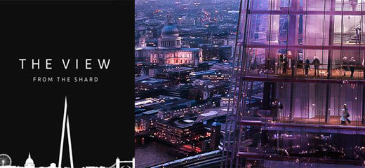 Risultati immagini per the view from the shard tickets
