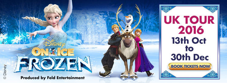 Disney On Ice presents Frozen - London O2 Arena Tickets | London