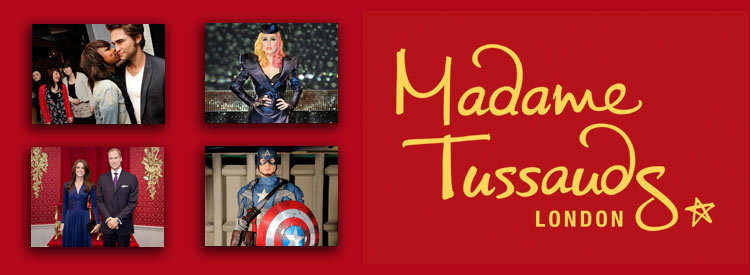 5 London Attraction Tickets from £60 at Madame Tussauds London Take advantage of this amazing deal for your day out in London. From Shrek's Adventures to the London Eye, pick your 4 favourites with Madame Tussauds London to have the best memories with your family and friends.