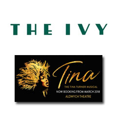 Book Tina - The Tina Turner Musical - The Ivy - 2 Course Post Theatre Tickets